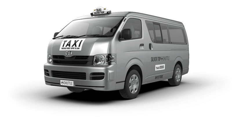 WHEEL-CHAIR ACCESSIBLE / MAXI TAXI